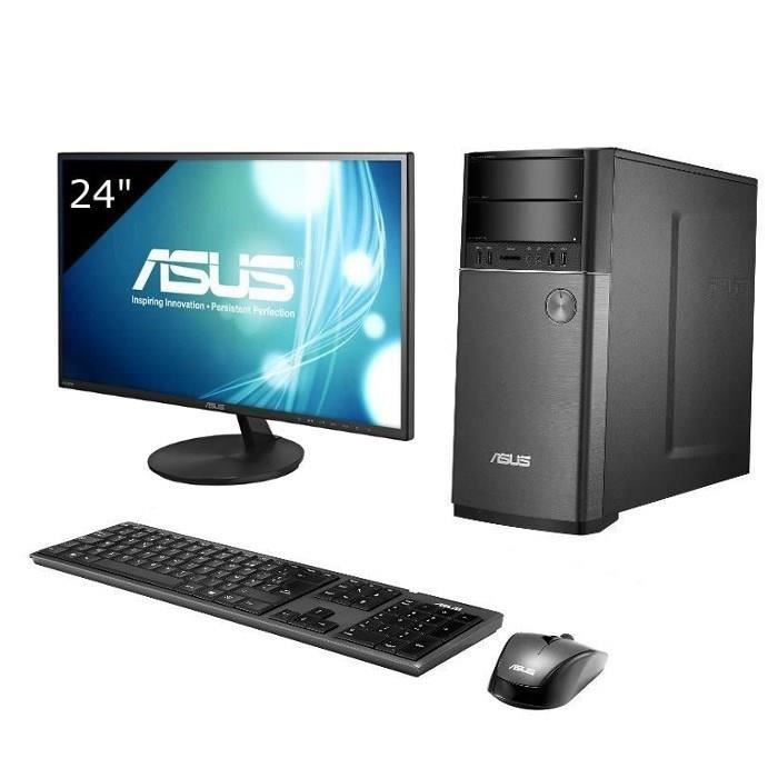 asus pc de bureau m52ad fr003s asus ecran asus pickture. Black Bedroom Furniture Sets. Home Design Ideas