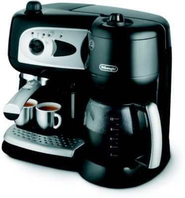 expresso combin cafeti re delonghi bco261 b delonghi pickture. Black Bedroom Furniture Sets. Home Design Ideas