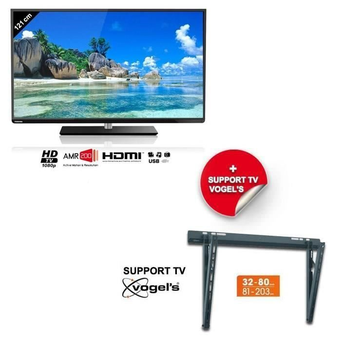 toshiba 48l5445dg smart tv 122 cm support mural toshiba pickture. Black Bedroom Furniture Sets. Home Design Ideas