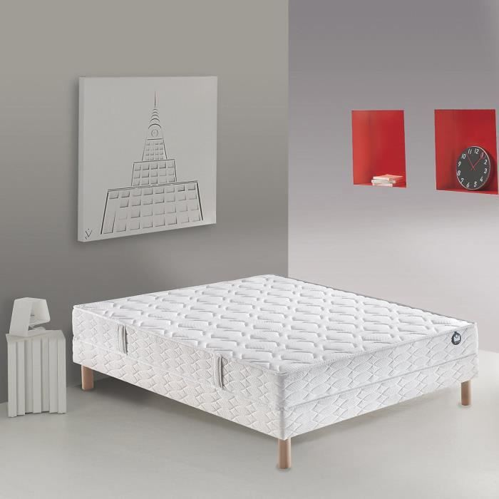 matelas 100 bultex nano duby 140x190 h19cm bultex pickture. Black Bedroom Furniture Sets. Home Design Ideas