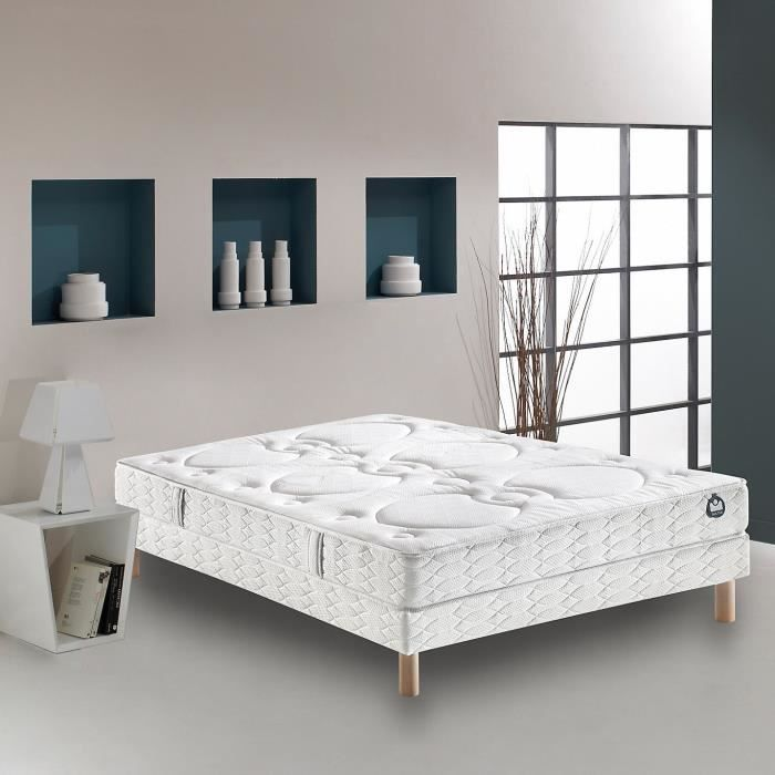 matelas 100 bultex nano fosburry 160x200 h22cm bultex pickture. Black Bedroom Furniture Sets. Home Design Ideas