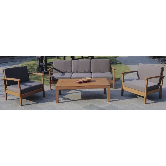 finlandek heimo salon de jardin 4 pieces finlandek plein air pickture. Black Bedroom Furniture Sets. Home Design Ideas