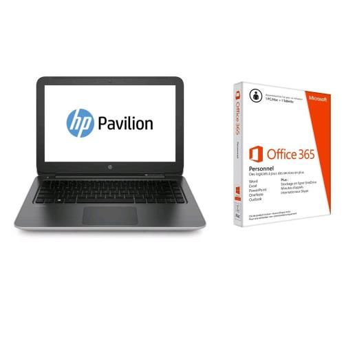 pc portable hp pavilion notebook 15 p269nf 15 6 hp. Black Bedroom Furniture Sets. Home Design Ideas