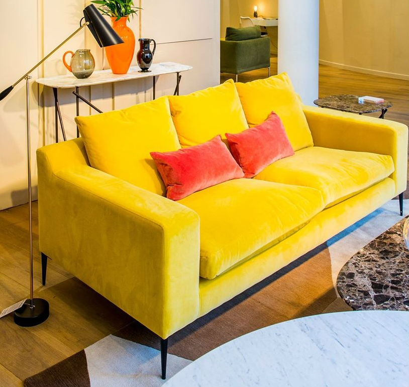 canap chiltern jaune the conran shop pickture. Black Bedroom Furniture Sets. Home Design Ideas