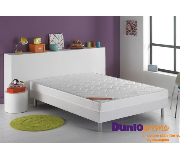 Ensemble dunloprems matelas up sommier dunlopillo pickture - Sommier 2 x 80 x 200 ...
