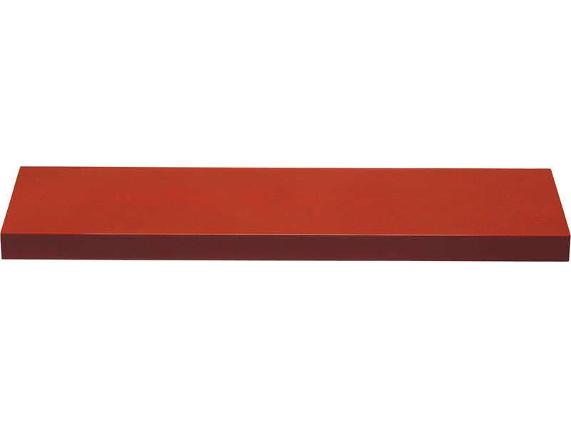 Etag re murale wingloss coloris rouge conforama pickture for Conforama etageres murales