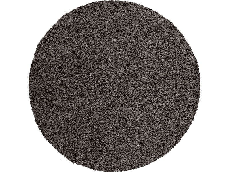 tapis rond cm shaggy coloris noir conforama pickture. Black Bedroom Furniture Sets. Home Design Ideas