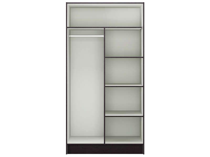 caisse armoire 2 portes prado ebene conforama pickture. Black Bedroom Furniture Sets. Home Design Ideas
