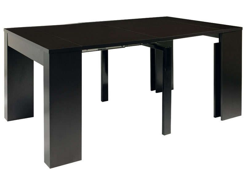 table peninsule coloris noir conforama pickture. Black Bedroom Furniture Sets. Home Design Ideas