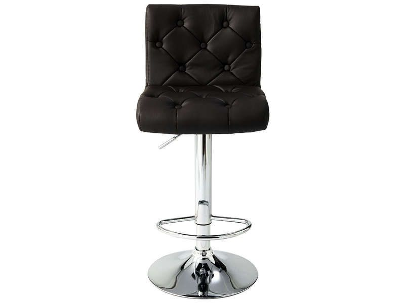 tabouret de bar chester coloris marron conforama pickture. Black Bedroom Furniture Sets. Home Design Ideas