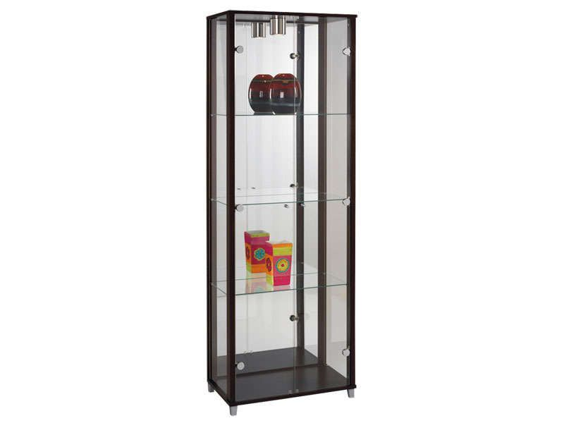 Vitrine paros iii conforama pickture for Vitrine murale conforama