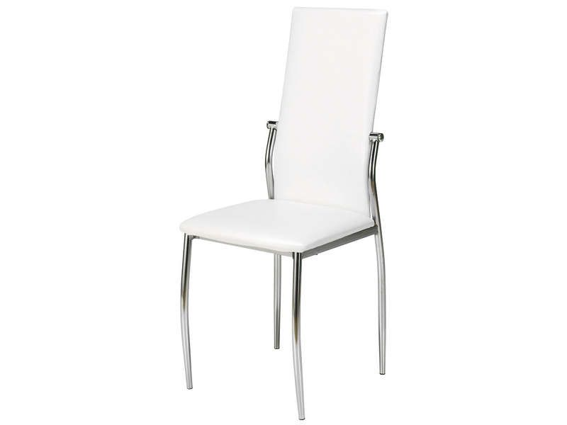 chaise first coloris blanc conforama pickture