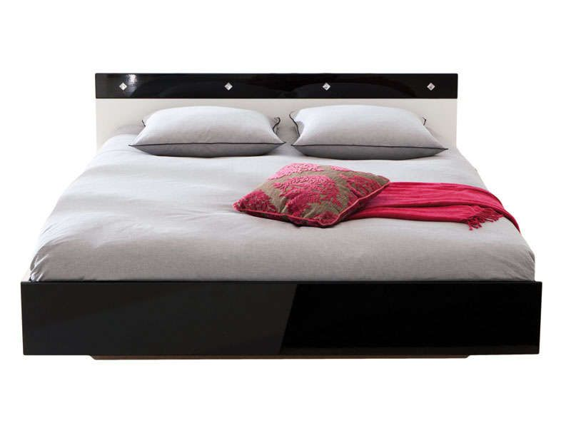 lit 2 personnes 140 x 190 cm mever coloris conforama. Black Bedroom Furniture Sets. Home Design Ideas