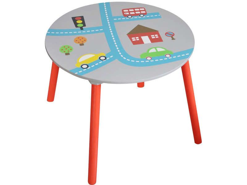 Table city conforama pickture for Conforama table enfant