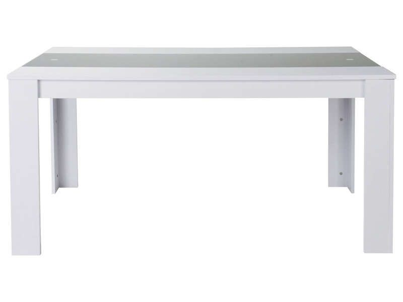 Table Rico Coloris Noir Et Blanc Conforama Pickture