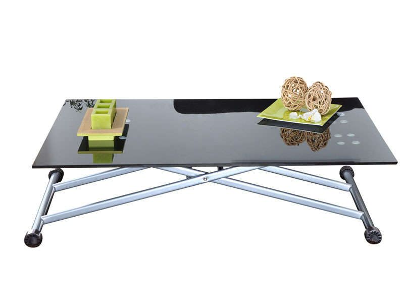 Table basse transformable up down conforama pickture for Table up and down but