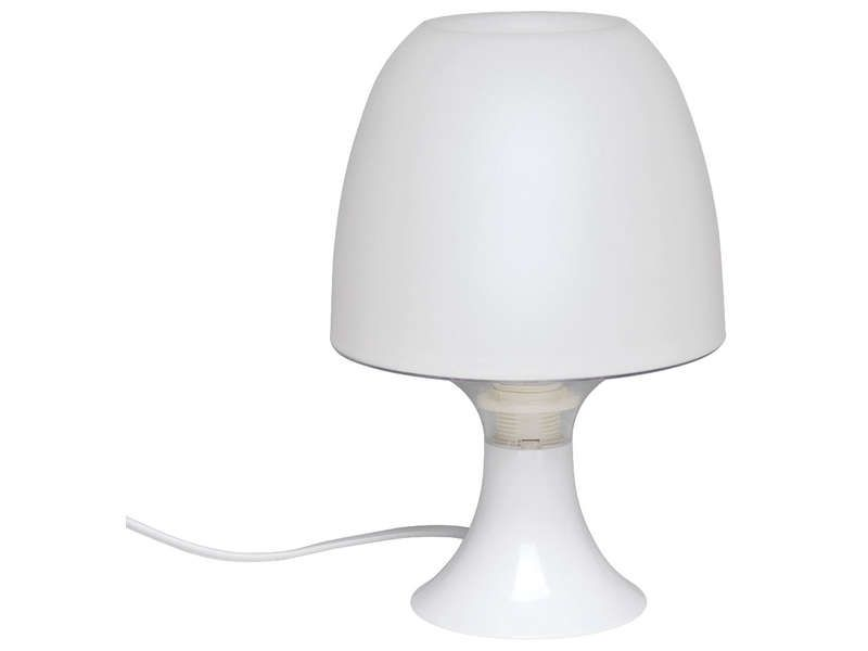 Lampe sveta coloris blanc conforama pickture for Lampe de chevet chambre adulte
