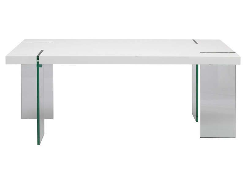 Table rectangulaire marbella conforama pickture for Conforama table manger