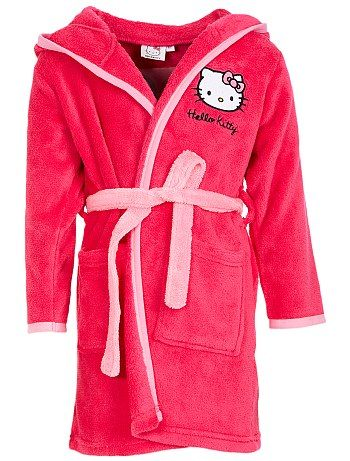 Peignoir robe de chambre 39 hello kitty 39 kiabi pickture - Robe de chambre hello kitty ...
