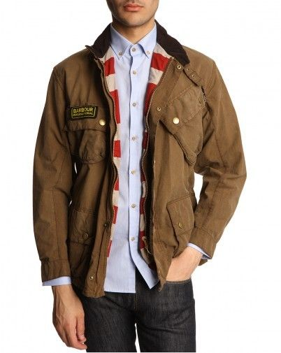 Barbour International Marron