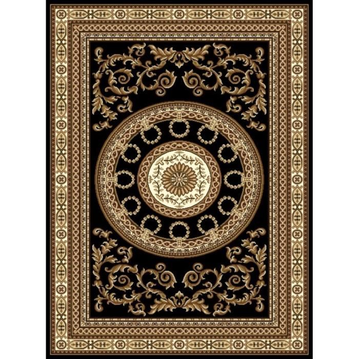persia tapis de salon noir 160x230 cm mondial tapis pickture. Black Bedroom Furniture Sets. Home Design Ideas