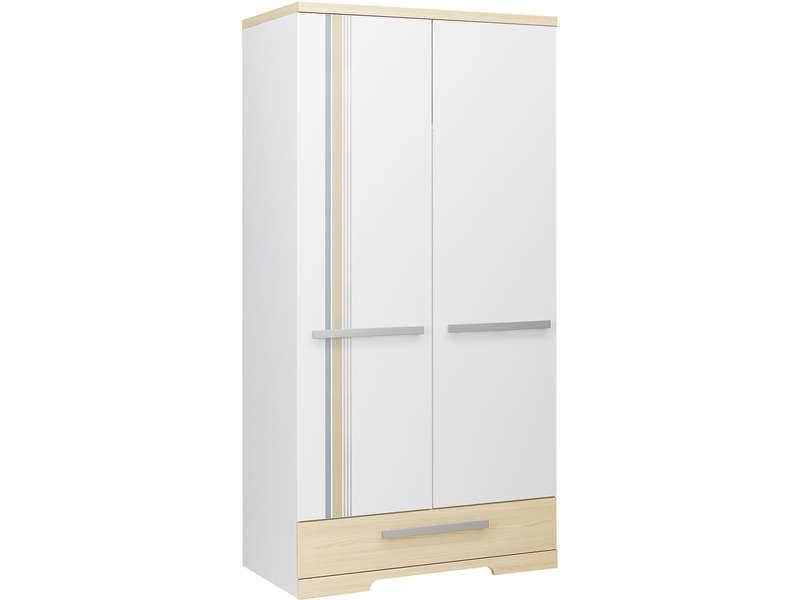Armoire 2 portes 1 tiroir arkan conforama pickture for Posters portes interieures