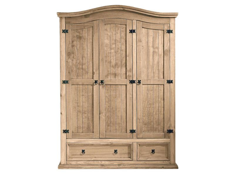 armoire 3 portes 2 3 penderie 1 3 ling re 2 conforama pickture. Black Bedroom Furniture Sets. Home Design Ideas