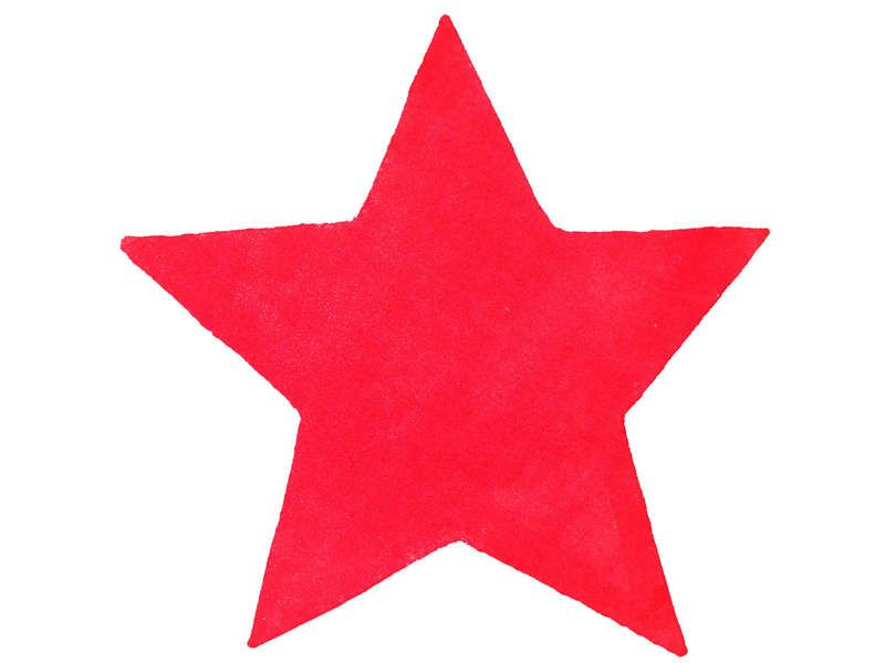 Tapis Toile Star Coloris Rouge Conforama Pickture