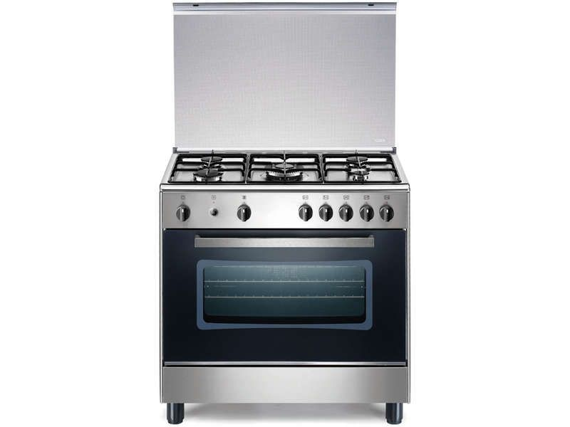 Gazini re 5 feux far cg 8050 13x inox la germania pickture - Gaziniere smeg 5 feux ...
