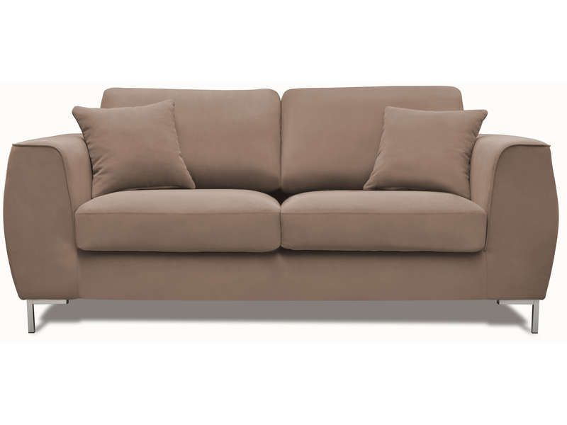 Canap fixe 3 places eddie coloris beige conforama pickture - Conforama canape 3 places ...