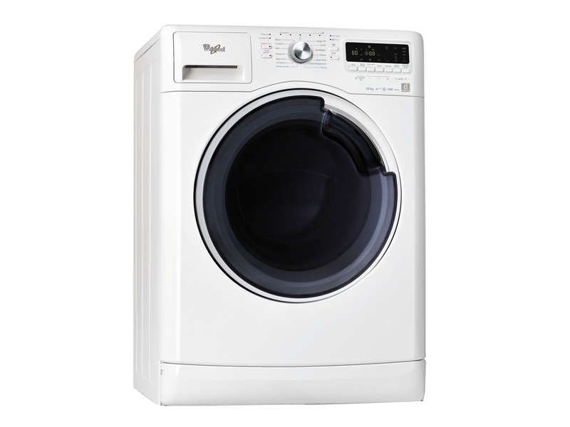 lave linge frontal 10kg coloris blanc whirlpool. Black Bedroom Furniture Sets. Home Design Ideas