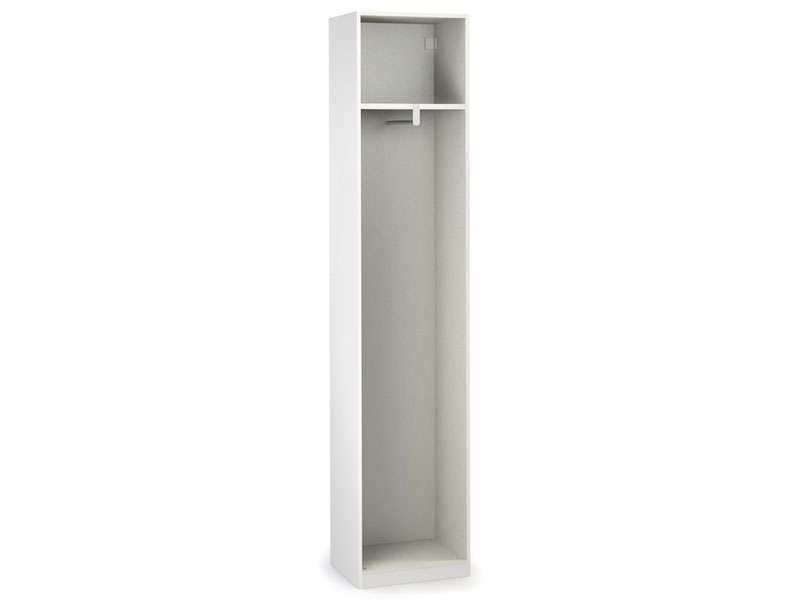 Caisse 1 porte cm no limit coloris blanc conforama for Porte placard 50 cm