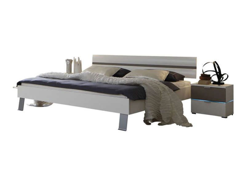 lit 160x190 cm colour sleep coloris blanc et congo conforama pickture. Black Bedroom Furniture Sets. Home Design Ideas