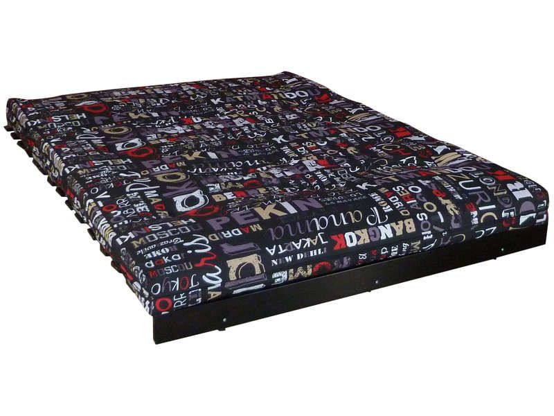 matelas futon mousse 140x190 cm cities conforama pickture. Black Bedroom Furniture Sets. Home Design Ideas