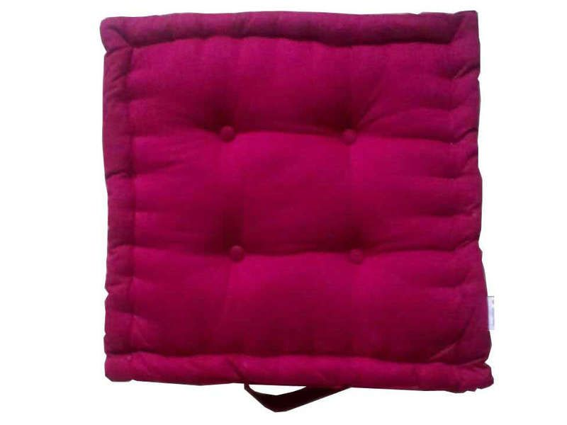 coussin de sol 40x40 cm rose conforama pickture. Black Bedroom Furniture Sets. Home Design Ideas