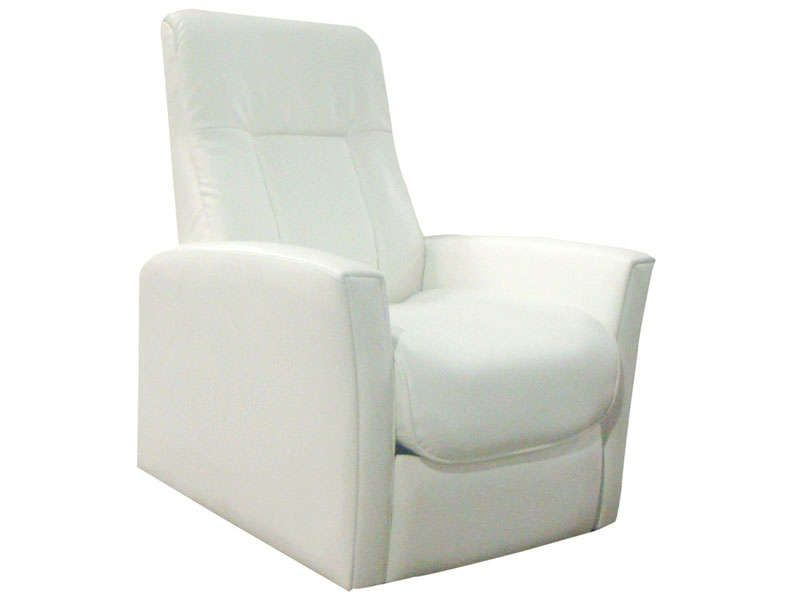 fauteuil relaxation zeni coloris blanc conforama pickture. Black Bedroom Furniture Sets. Home Design Ideas