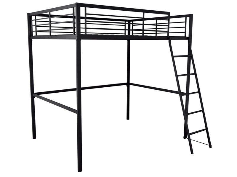 lit mezzanine 140x190 cm graffy conforama pickture. Black Bedroom Furniture Sets. Home Design Ideas