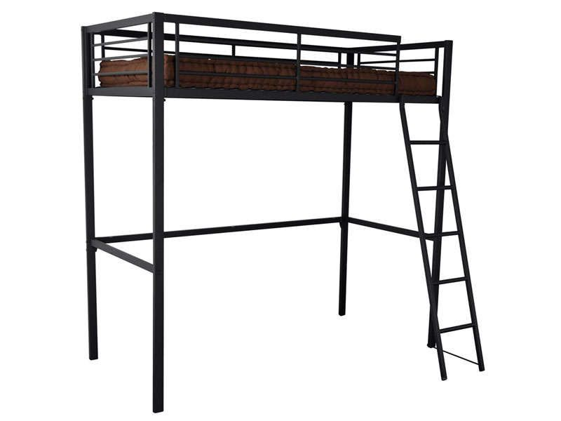lit mezzanine 90x190 cm graffy conforama pickture. Black Bedroom Furniture Sets. Home Design Ideas