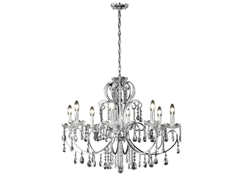 gallery of lustre noir baroque conforama lustre lampes sissi chrome conforama pickture with. Black Bedroom Furniture Sets. Home Design Ideas