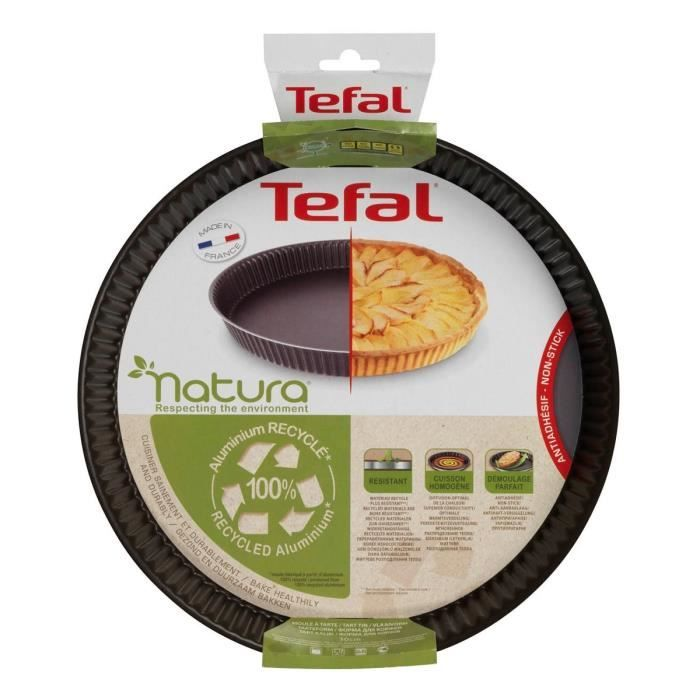tefal natura moule a tarte 30cm tefal pickture. Black Bedroom Furniture Sets. Home Design Ideas