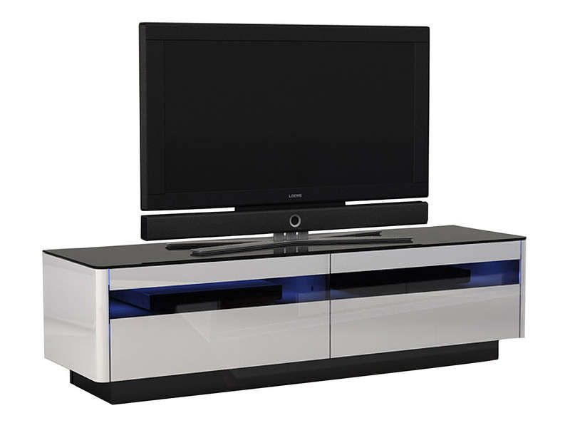 Meuble tv monza conforama pickture for Tv 140 cm conforama