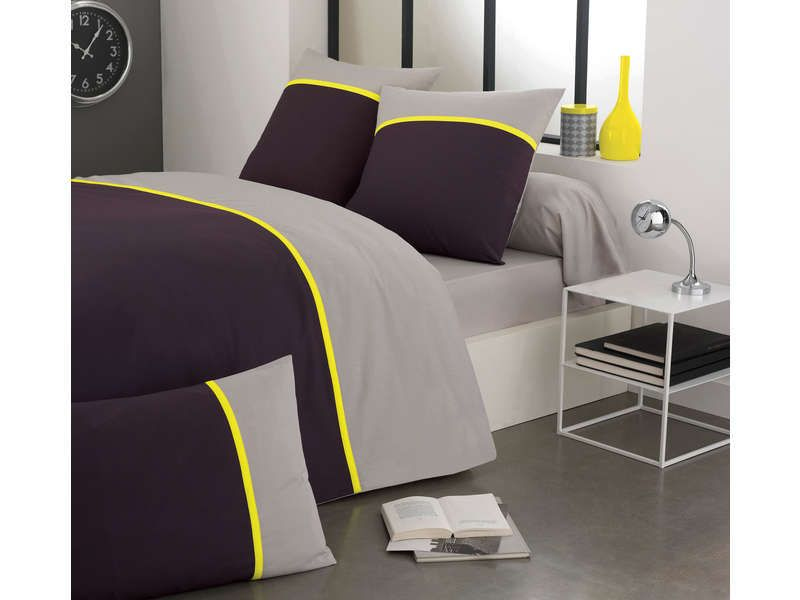 taie d 39 oreiller 50x70 cm fluo conforama pickture. Black Bedroom Furniture Sets. Home Design Ideas