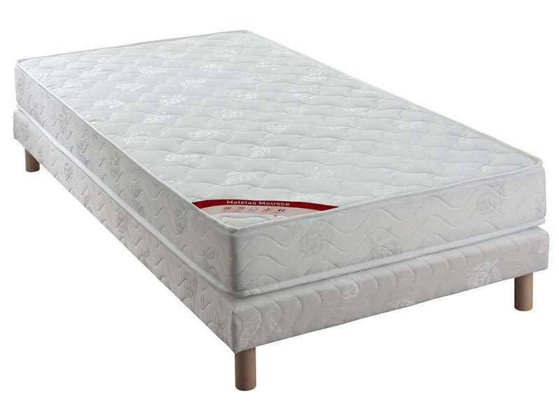 matelas sommier 90x190 cm confo bed acces conforama pickture. Black Bedroom Furniture Sets. Home Design Ideas