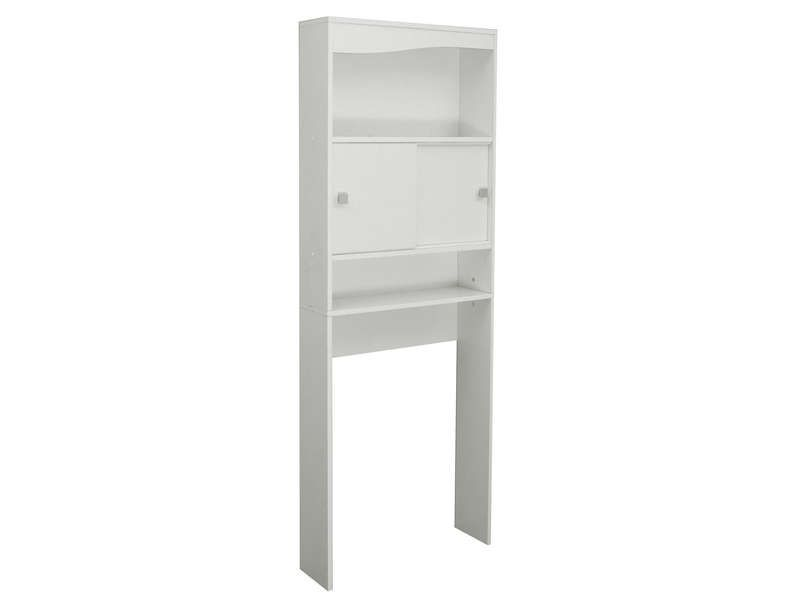 Meuble de rangement wc machine laver eos conforama pickture - Meuble de toilette leroy merlin ...