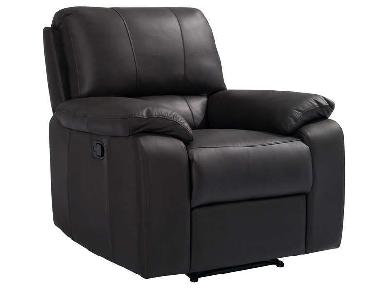 fauteuil relaxation manuel vicky coloris chocolat conforama pickture. Black Bedroom Furniture Sets. Home Design Ideas