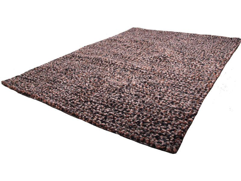 Tapis 160x230 cm casablanca coloris chocolat conforama pickture - Tapis conforama 160x230 ...