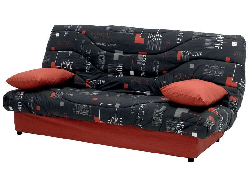 couette clic clac 140 cm prima decoline conforama pickture. Black Bedroom Furniture Sets. Home Design Ideas