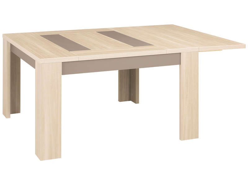 Allonge pour table carr e atlanta atlanta conforama - Table carree salle a manger avec rallonge ...