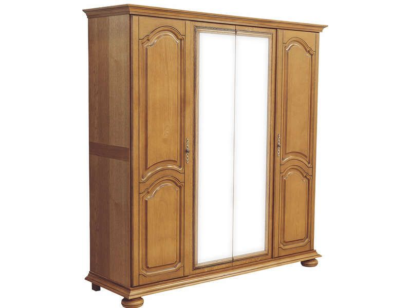 armoire 4 portes romana conforama pickture. Black Bedroom Furniture Sets. Home Design Ideas