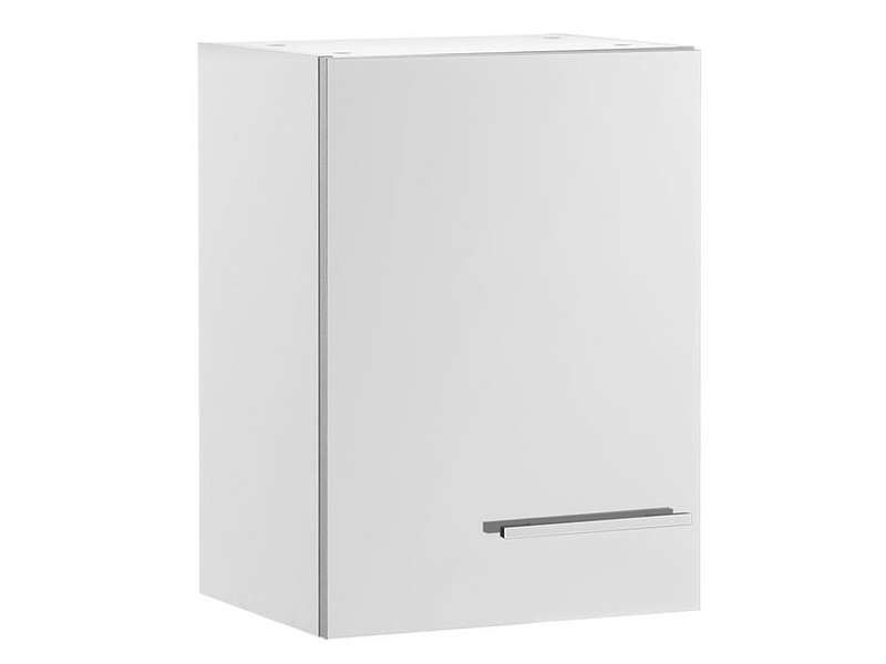 Meuble Haut 40 Cm 1 Porte Spoon Shiny Blanc Conforama